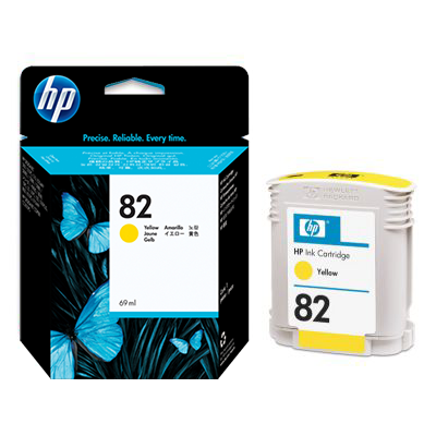 Hp ink cartridge yellow 69ml dye c4913a cad for Hp brochure templates