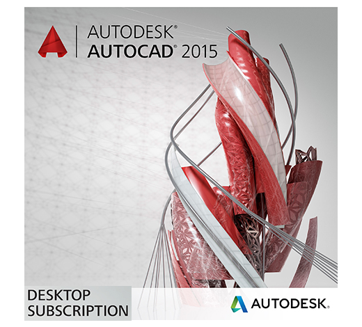 AutoCAD 2015 Annual Desktop Subscription (Rental) with Basic Support