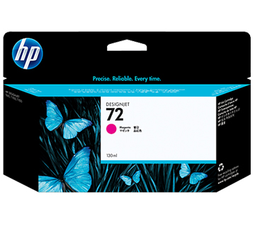HP No.72 Ink Cartridge Magenta 130ml (Vivera) (C9372A)