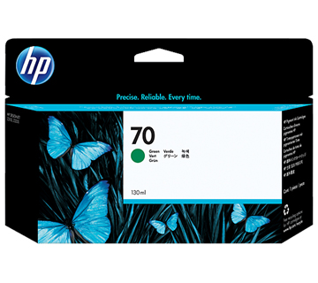 HP No.70 Ink Cartridge Green 130ml (Vivera) (C9457A)