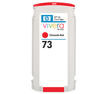 HP No.73 Ink Cartridge Chromatic Red 130ml (Vivera) (CD951A)