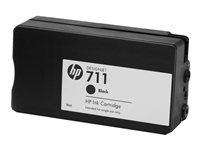 HP No.711 CZ133A Black Cartridge 80ml 1-Pack T120  T520