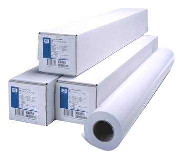 "HP Universal Heavyweight Coated Paper 24"" - 610mm x 30.5m - 120gsm"