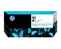 HP No.80 Printhead & Cleaner Black (Dye) (C4820A)