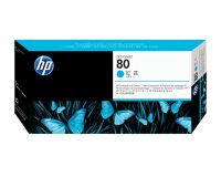 HP No.80 Printhead & Cleaner Cyan (Dye) (C4821A)