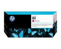 HP No.80 Printhead & Cleaner Magenta (Dye) (C4822A)