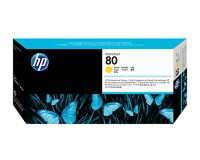 HP No.80 Printhead & Cleaner Yellow (Dye) (C4823A)