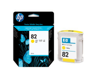 HP No.82 Ink Cartridge Yellow 69ml (Dye) (C4913A)