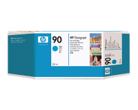 HP No.90 Ink Cartridge Cyan 225ml (Dye) (C5060A)