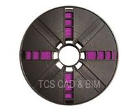 True Purple ABS for Replicator 2X