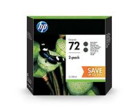 HP No.72 Value Pack of 2 Ink Cartridge Matte Black 130ml