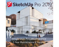 SketchUp Pro 2019 Commercial Perpetual Licence