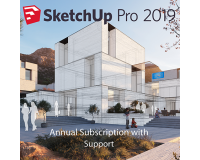SketchUp Pro 2019 1-Year Single-User Licence