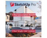SketchUp Pro and V-Ray Bundle Annual Licence