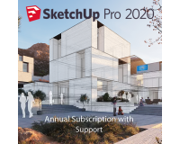 SketchUp Pro 2020 1-Year Single-User Licence