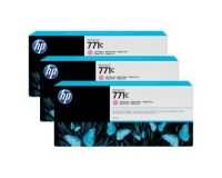 HP No.771 Ink Cartridge Light Magenta - 3 Ink Multipack - 775ml (B6Y35A Replacment for CR254A)