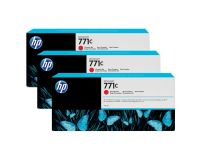 HP No.771 Ink Cartridge Chromatic red - 3 Ink Multipack - 775ml (B6Y32A Replacment for CR251A)