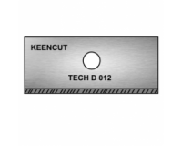 KeenCut - TECH D .012 Double-Sided Rectangular Mount Cutter Blade - 100pk
