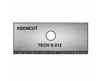 KeenCut - TECH D .012 Single-Sided Rectangular Mount Cutter Blade - 100pk