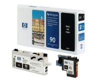 HP No.90 Printhead & Cleaner Black (Dye) (C5054A)