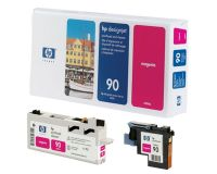 HP No.90 Printhead & Cleaner Magenta (Dye) (C5056A)