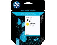 HP No.72 Ink Cartridge Yellow 69ml (Vivera) (C9400A)
