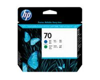 HP No.70 Printhead Blue & Green (Vivera) (C9408A)