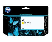 HP No.70 Ink Cartridge Yellow 130ml (Vivera) (C9454A)