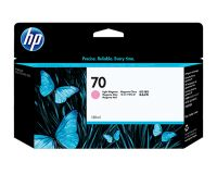 HP No.70 Ink Cartridge Light Magenta 130ml (Vivera) (C9455A)