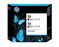 HP No.70 Ink Cartridge Matte Black 130ml x 2 (Vivera) (CB339A)