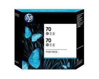 HP No.70 Ink Cartridge Grey 130ml x 2 (Vivera) (CB341A)