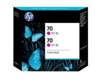 HP No.70 Ink Cartridge Magenta 130ml x 2 (Vivera) (CB344A)