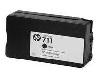 HP No.711 CZ129A Black Cartridge 38ml 1-Pack T125 T130 T525 T530