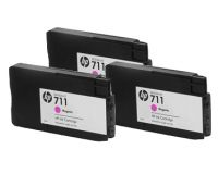 HP 711 CZ135A Magenta cartridge  29ml 3-pack T125 T130 T525 T530