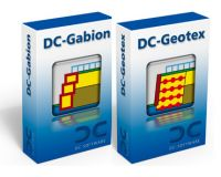 DC-Gabion and DC-Geotex Software