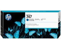 HP No. 747 Ink Cartridge Chromatic Blue - 300ml
