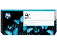 HP No. 747 Ink Cartridge Gray - 300ml