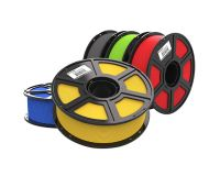 MAKERBOT Sketch Classroom 5 Pack PLA Filaments - 1 of each Yellow Red Green Blue & Gray