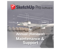 SketchUp Pro Annual Renewal of Maintenance and Support