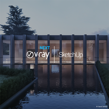 V-Ray for SketchUp 1-Year Licence